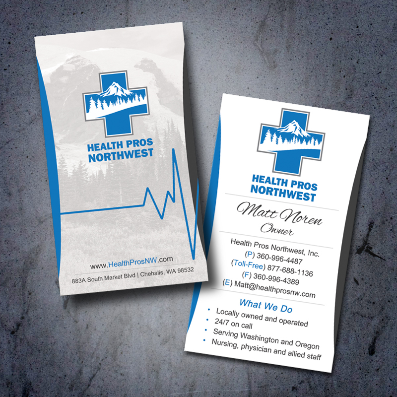 Health Care Pros Medical Business Cards