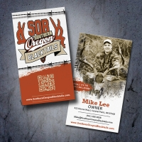 Southern Oregon Blacktails Hunting Business Card Design