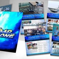 Bad To The Bone Fishing Media Kit Design