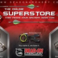 Dead On Archery Half Page Magazine Ad Design