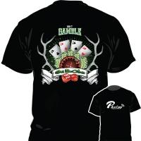Phelps Game Calls Vegas Gamble Hunting T-Shirt Design