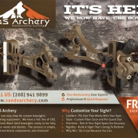 S and S Archery Hunting Magazine Ad Design