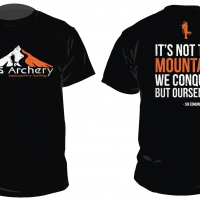 s-and-s-archery-mountain-bowhunter-hunting-t-shirt-design