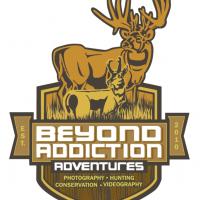Beyond Addiction Adventures Mule Deer Antelope Hunting Outdoor Logo Design