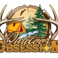 Outdoor Obsession Hunting Party logo Design