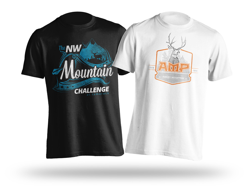 Hunting-Archery-Mule-Deer-T-Shirt-Design-Mock