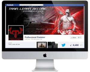 Professional Predator Hunting Outdoor Facebook Cover Design