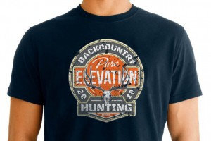 Pure Elevation Mule Deer T Shirt Design
