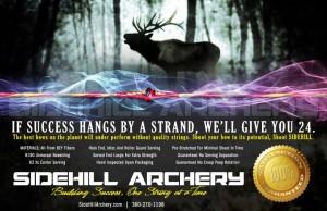 Sidehill Archery Custom Bow Strings Hunting Ad