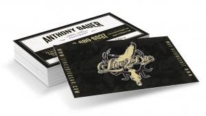 Live 2 Die Gear Outdoor Retro Business Card Design
