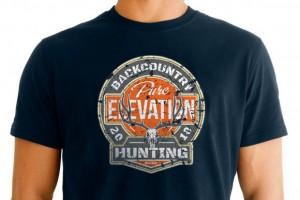 Pure Elevation Mule Deer T Shirt Design