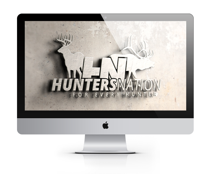 Hunters-Nation-Deer-Elk-Hunting-Logo-Design